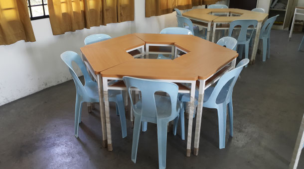 Our Initial Target Is To Raise RM70,000 To Change The Tables And Chairs For  Primary 1 To 3 Students.
